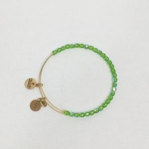 Alex & Ani Energy Infused Green Bracelet